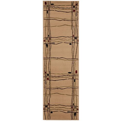 Nourison® Wavy Line Runner Rug