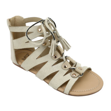 jcpenney.com | OMGirl Mckenzie Ghillie Lace-Up Girls Sandals - Little Kids