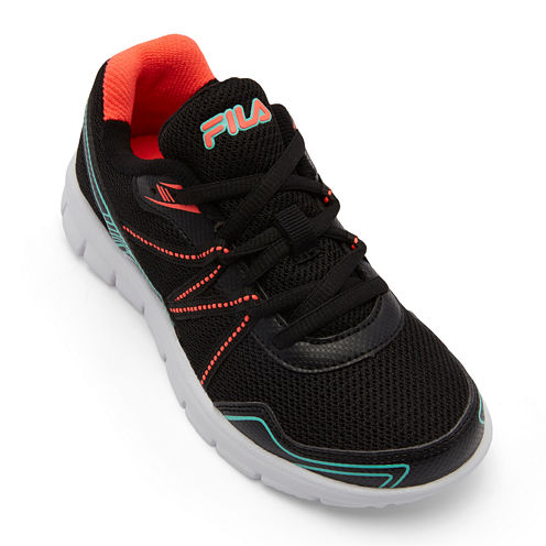 Fila® Fiction Girls Running Shoes - Big Kids