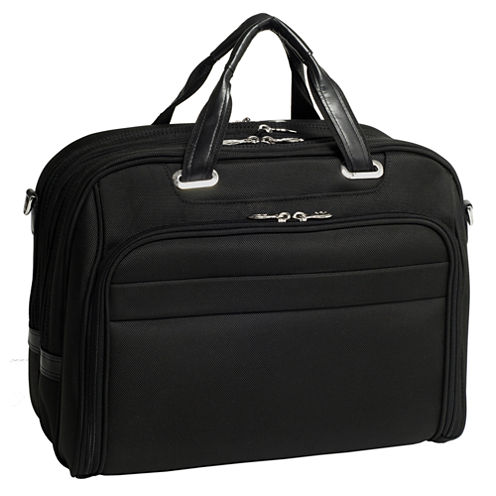 "McKleinUSA Springfield 15.6"" Nylon Fly-Through™ Checkpoint-Friendly Laptop Briefcase"