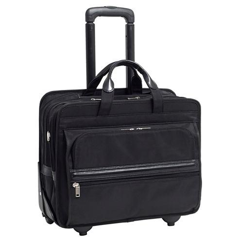 "McKleinUSA Franklin 15.6"" Nylon Detachable -Wheeled Laptop Briefcase"