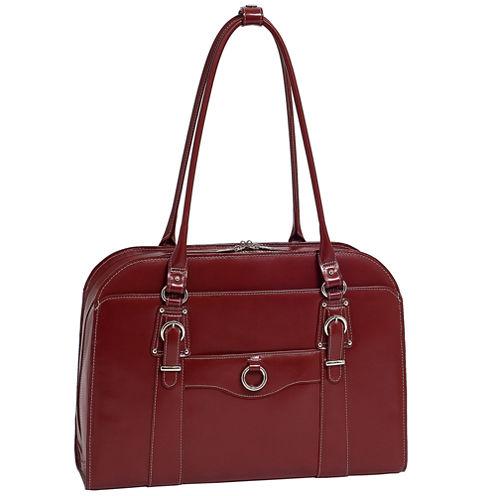 """McKleinUSA Hillside 14"""" Leather  Laptop Briefcase"""