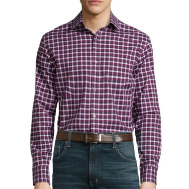 jcpenney.com | Claiborne® Long-Sleeve Stretch Woven Shirt