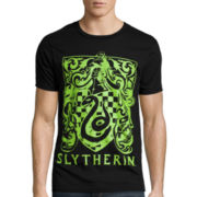Short-Sleeve Harry Potter Slytherin Tee
