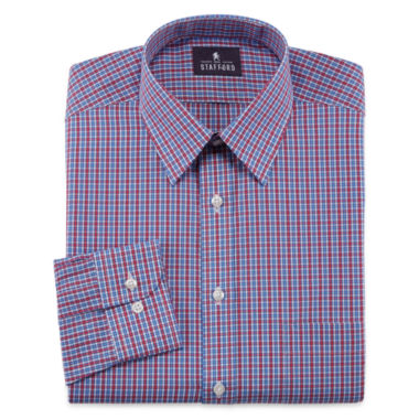 jcpenney.com | Stafford® Travel Performance Super Long-Sleeve Dress Shirt