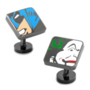 Batman and Joker Cuff Links