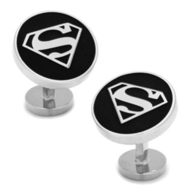 jcpenney.com | DC Comics® Round Superman Shield Cuff Links