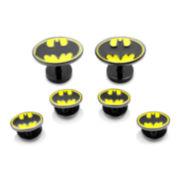 DC Comics® Batman Enamel Cuff Link and Tuxedo Stud Set