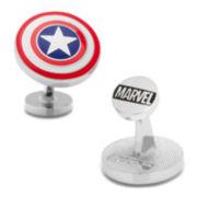 DC Comics® Captain America Shield Cuff Links