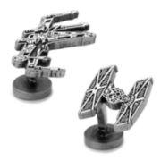 X-Wing, TIE Fighter, Battleship Cuff Links