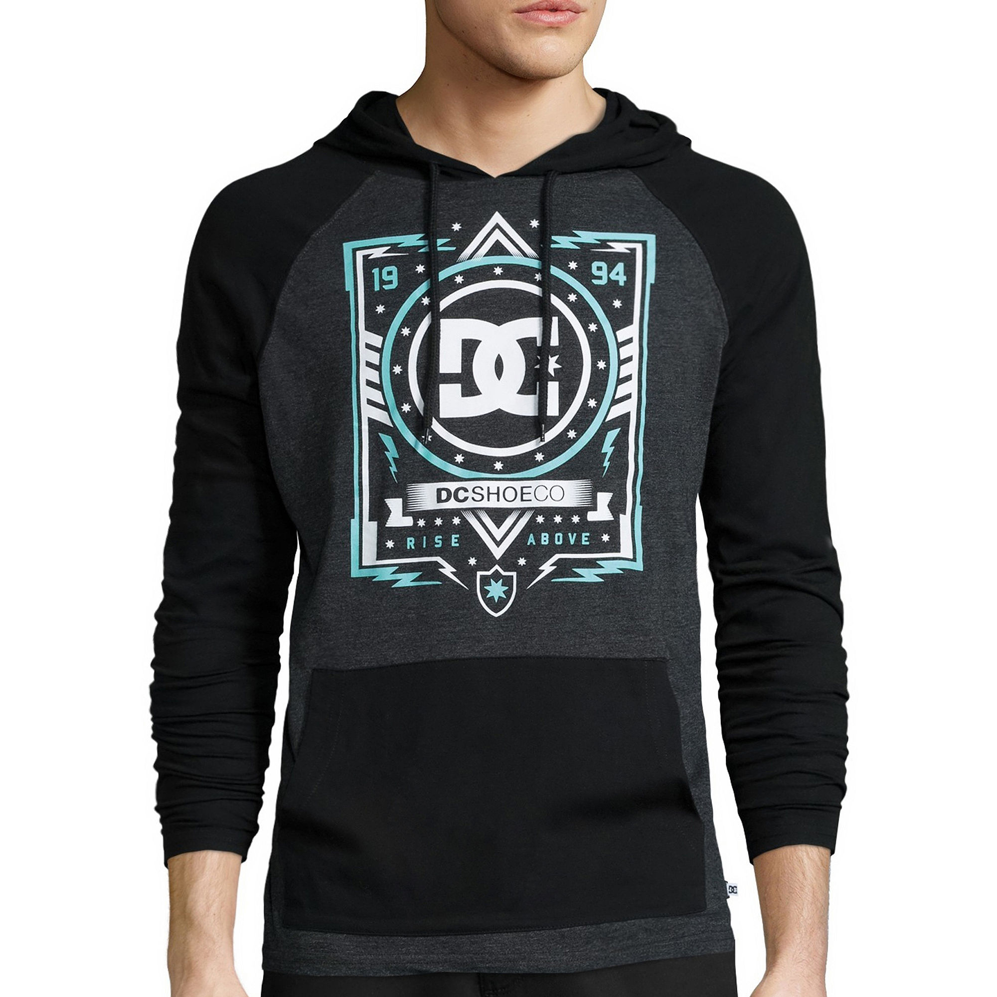 DC Shoes Co. Long-Sleeve Future Athlete Pullover Hoodie