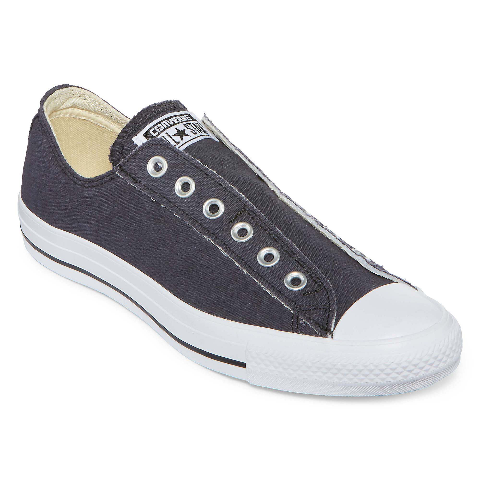c8cdc70ae3b3 ... Black Mens UPC 022863343674 product image for Converse Chuck Taylor All  Star Laceless Sneakers