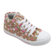 OMGirl Willow Floral Girls High-Top Sneakers - Little Kids