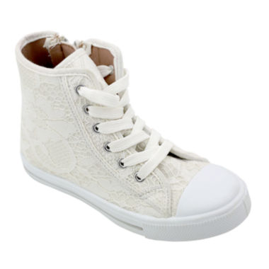 jcpenney.com | OMGirl Sabrine Lace Girls High-Top Sneakers - Little Kids