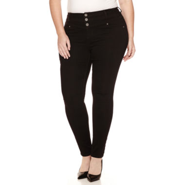 jcpenney.com | Blue Spice High-Rise Jeggings - Juniors Plus