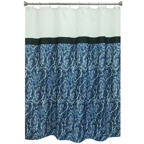 Bacova Guild Agate Shower Curtain