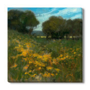 Summer Walk Canvas Wall Art