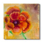Blossom on Gold Canvas Wall Art
