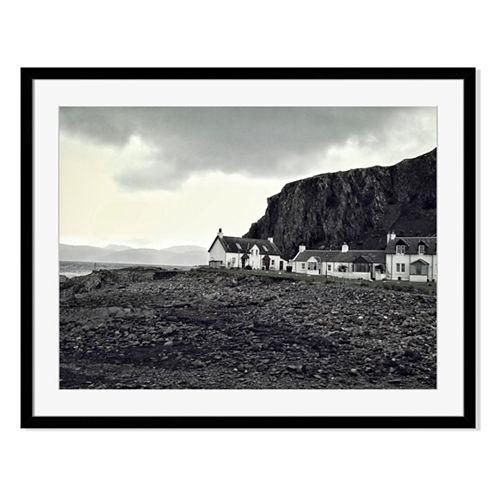 Shore House Framed Print