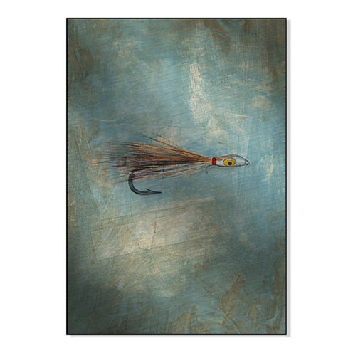 Fly Fishing II Metal Art
