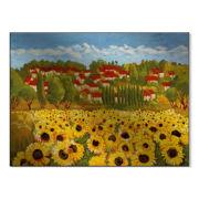 Sunflower Field Metal Art