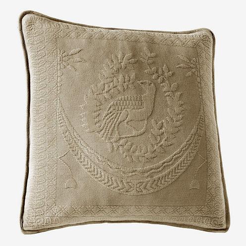 """Historic Charleston Collection™ King Charles 20"""" Square Decorative Pillow"""