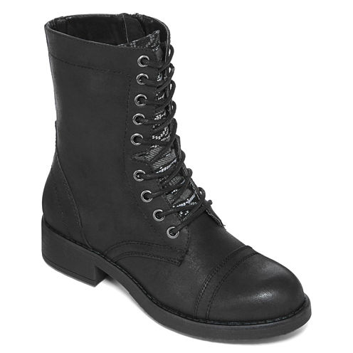 Mia® Girl Basia Lace-Up Combat Boots