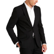JF J. Ferrar® Black Super-Slim Jacket