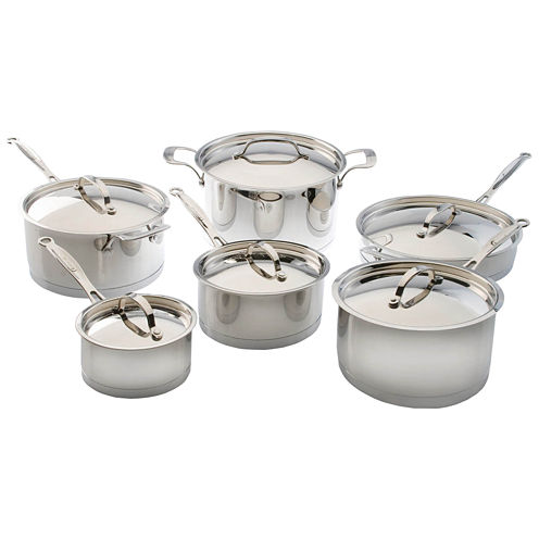 BergHOFF® 12-pc. Earthchef Acadian Stainless Steel Cookware Set