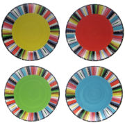 Certified International Santa Fe Set of 4 Dinner Plates