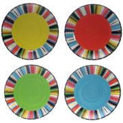 Santa Fe Set of 4 Dinner Plates