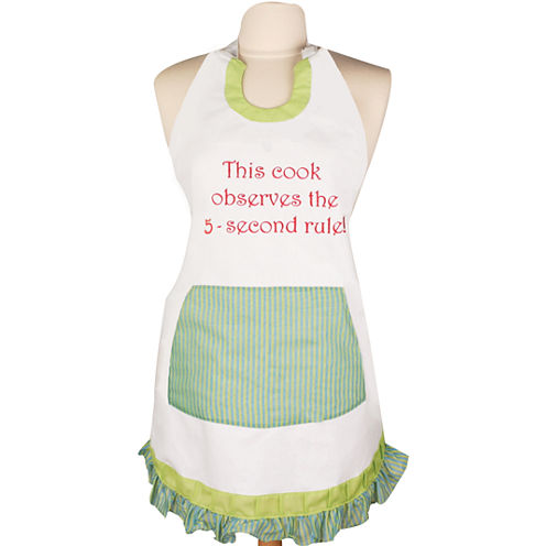 Women's This Cook Observes 5-Second Rule Apron