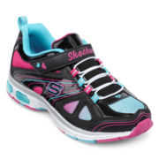 Skechers® Lite Ray Sparkle Party Girls Athletic Shoes - Little Kids