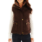 KC Collections Reversible Faux-Fur Vest