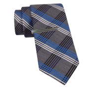 JF J. Ferrar® Plaid Slim Tie