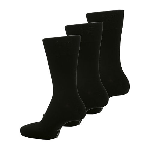 Gentle Grip 3-pk. Crew Socks