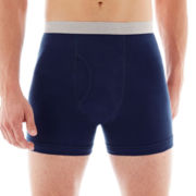 Stafford® 2-pk. Cotton Boxer Briefs - Big & Tall