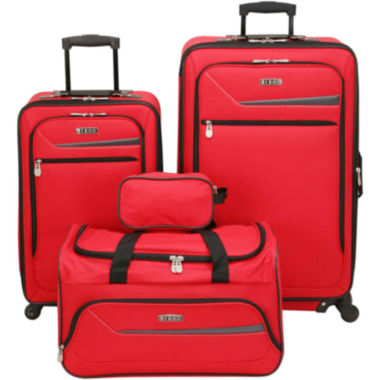 jcpenney.com | IZOD® Metro 3.0 4-pc. Expandable Spinner Upright Luggage Set