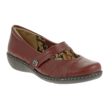 jcpenney.com | Soft Style® by Hush Puppies Jayne Leather Mary Jane Flats