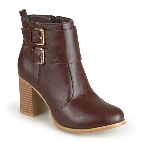 Journee Collection Port Womens Booties