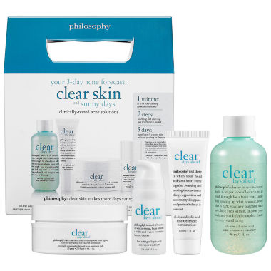 jcpenney.com | philosophy Clear Days Ahead Trial Kit