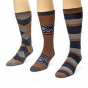 Muk Luks® 3-pk. Crew Socks