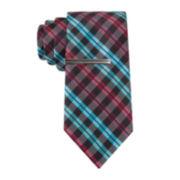 JF J. Ferrar® Charles Plaid Tie - Slim