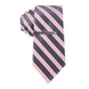 JF J. Ferrar® Pierre Stripe Tie