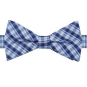Stafford ® Cedar Plaid Pre-Tied Bow Tie