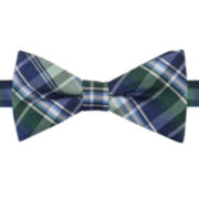 Stafford ® Routh Plaid Pre-Tied Bow Tie