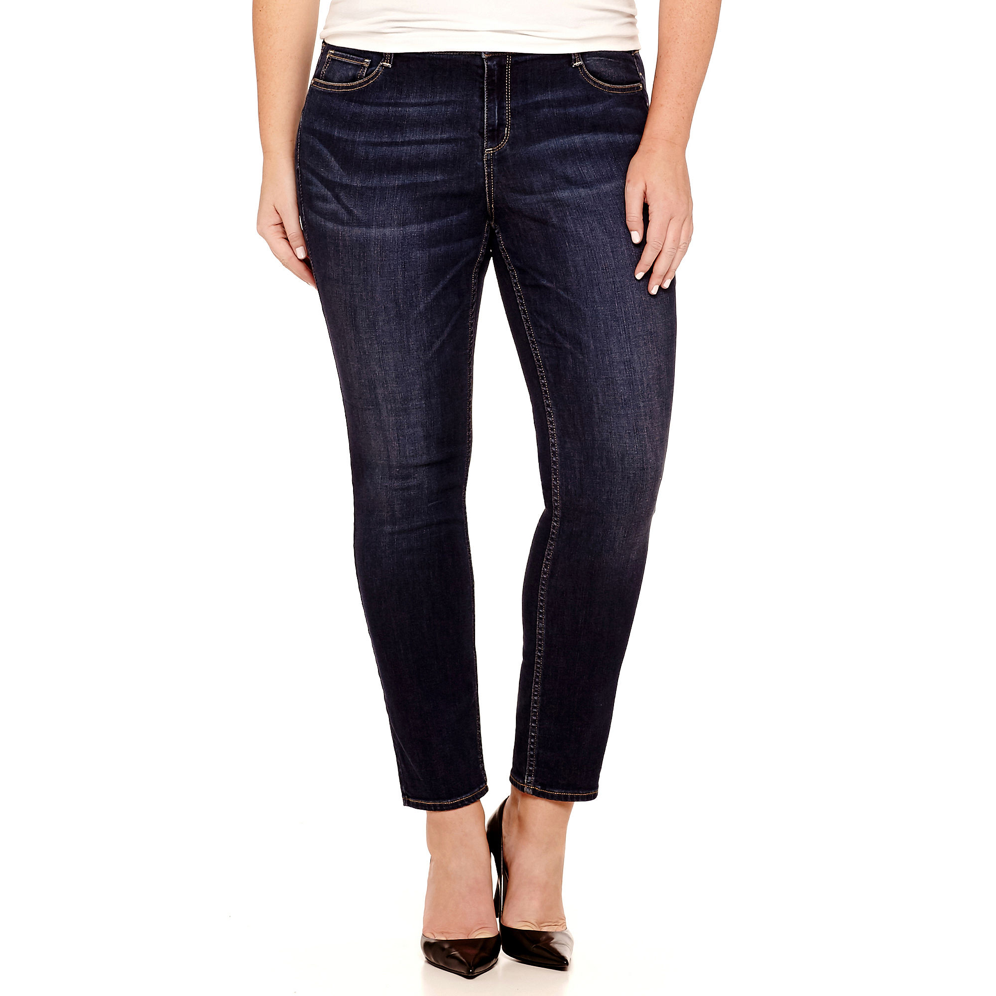 Arizona Super Skinny Jeans-Juniors Plus plus size,  plus size fashion plus size appare