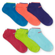 adidas® 6-pk. Superlite II Tipped No-Show Socks