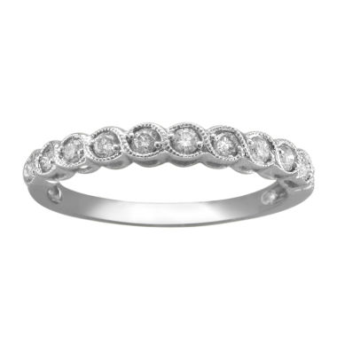 jcpenney.com | ¼ CT. T.W. Diamond 10K White Gold Anniversary Band