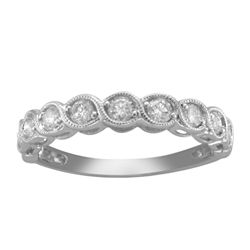 ½ CT. T.W. Diamond 10K White Gold Anniversary Band